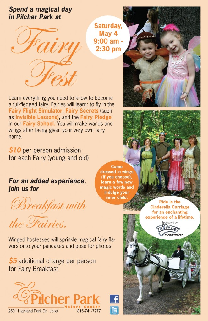 Fairy Festival at Pilcher Park in Joliet, IL