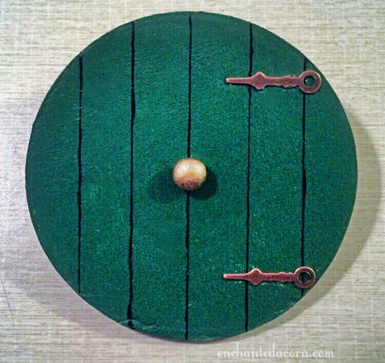 Miniature Hobbit Gnome Fairy Door & Hobbit Gnome or Fairy Door | The Enchanted Acorn Fairy Gardens ...