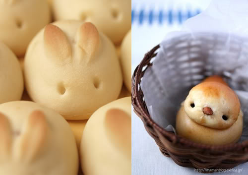 Easter Bunny Buns & Baby Chick Rolls